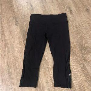 alo yogi crop leggings